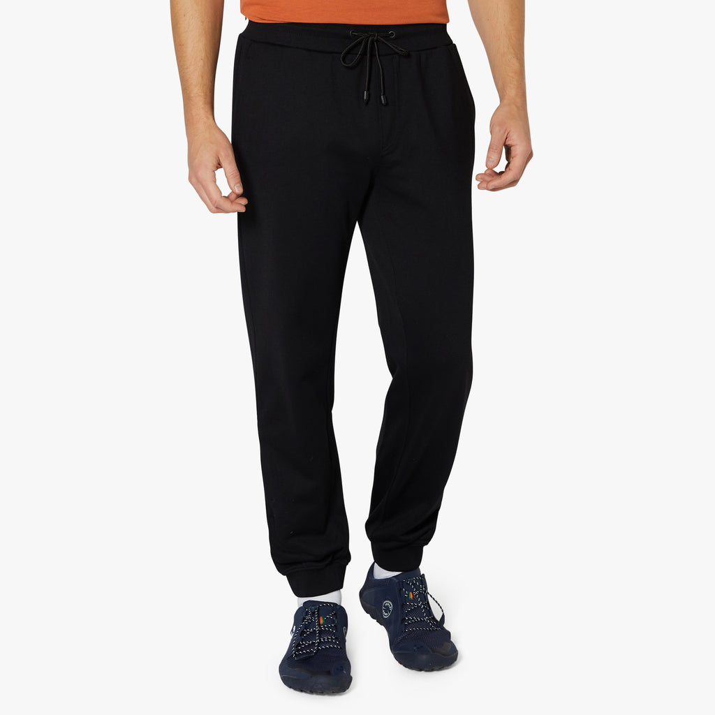 Onslow Loopback Sweatpants Raven Black