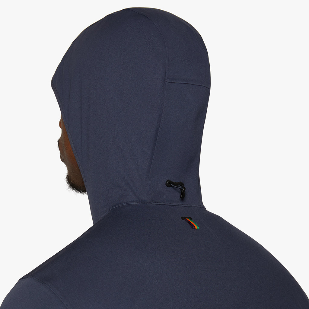 Richmond Hooded Waterproof Jacket Night Sky