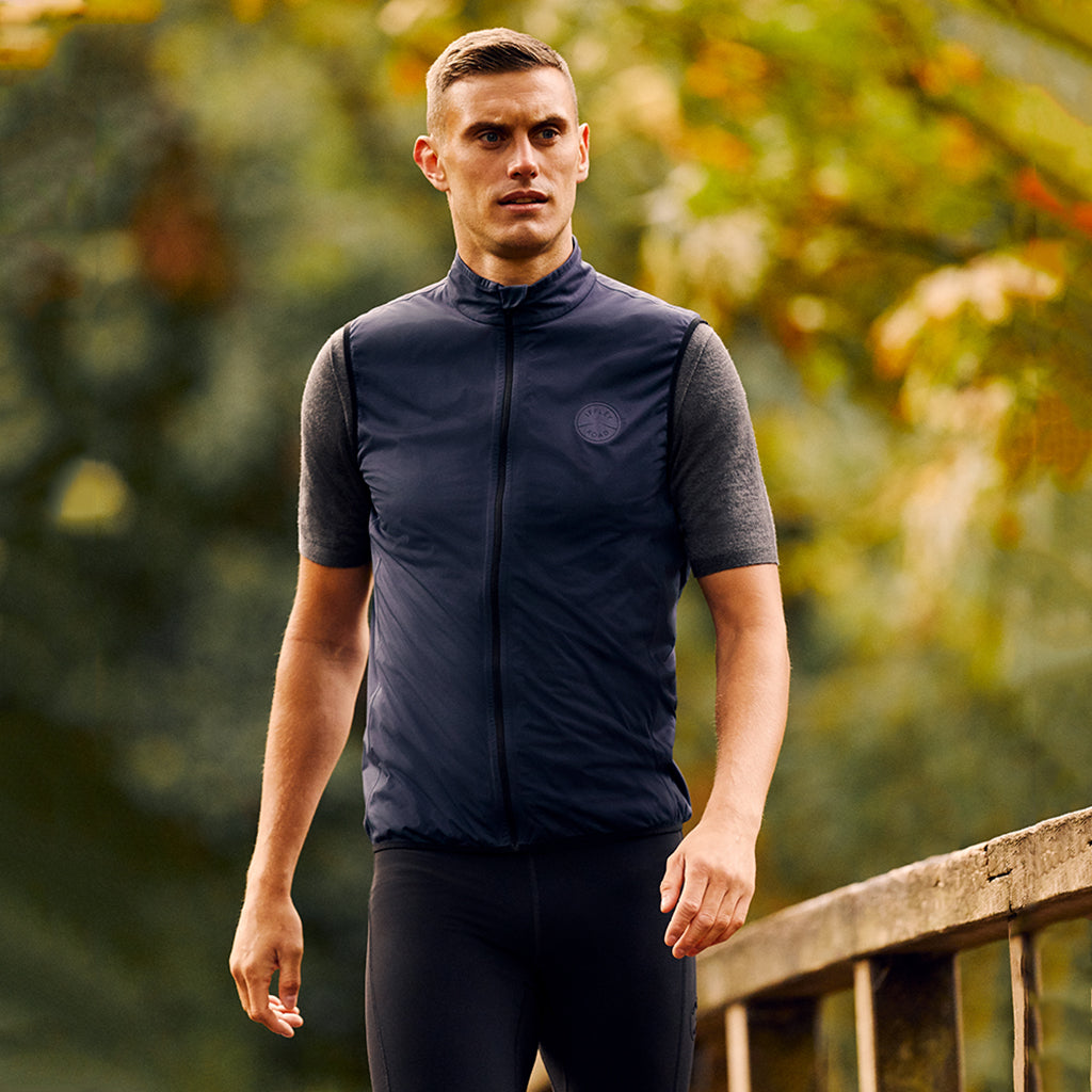 Sheen II Waterproof Gilet Night Sky