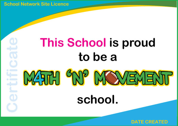 Math 'N' Movement USA (Common Core Standards)