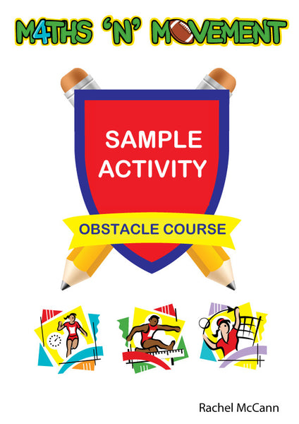 Sample Fun Math Game Activity Sheets