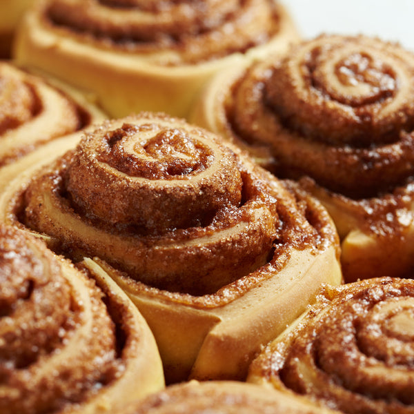 12 x Mini Cinnamon Rolls. A South African first!