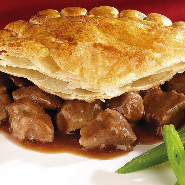 Pies - Assorted Pies - Cornish Pasty, Chicken and Mushroom, Pepper Steak, Steak and Kidney