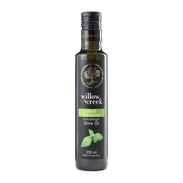 Willow Creek Basil Flavoured Extra Virgin Olive Oil - 250ml