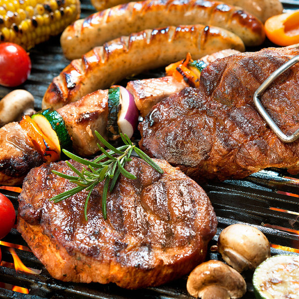 Big Braai Hamper (with Pork Sosaties) - Steaks, Sosaties and Boerewors