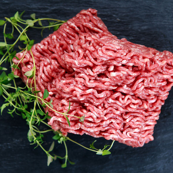Beef Minced - 3kg - 6 x 500g Topside Mince