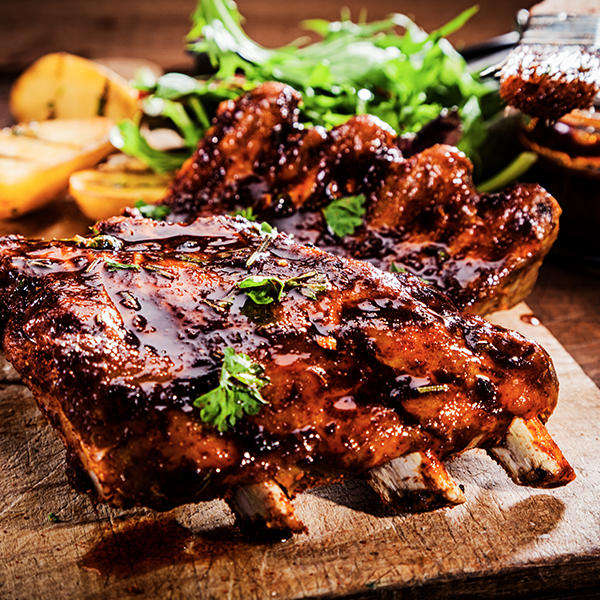 Marinated Beef Short Ribs - 1kg Marinated to Perfection