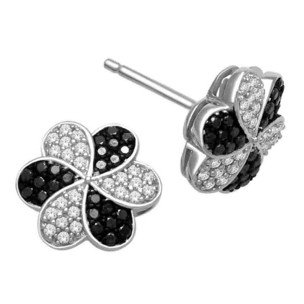 14Kt White Gold Fashion Earrings With 0.38 Carat Tw Of Diamonds