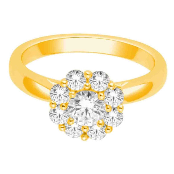 Diamond Ring With 1 Carat Tw Of Diamonds In 14Kt Yellow Gold