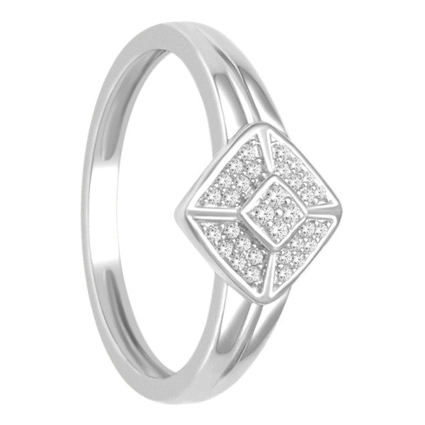 Promise Ring With 1/8 Carat Tw Of Diamonds In 10Kt White Gold