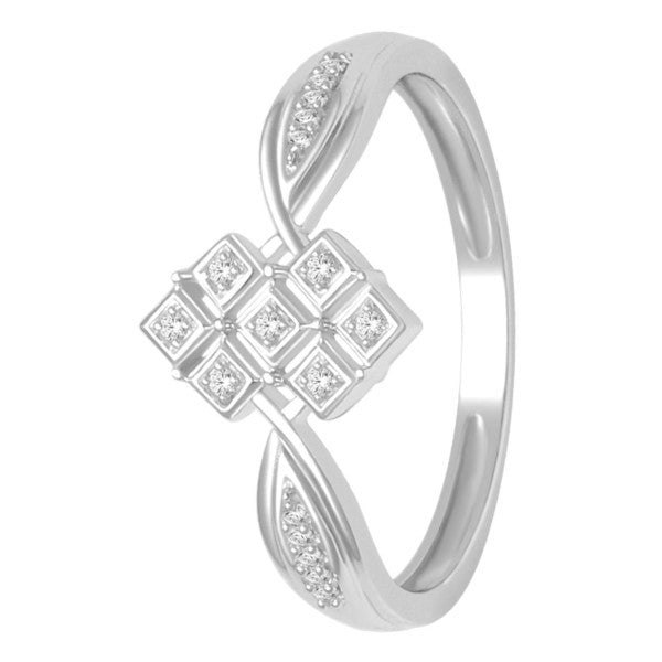 Promise Ring With 1/20 Carat Tw Of Diamonds In 10Kt White Gold