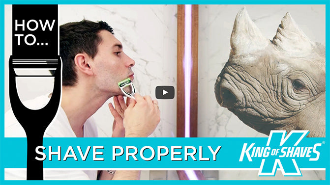 Watch our video guides to getting a great shave