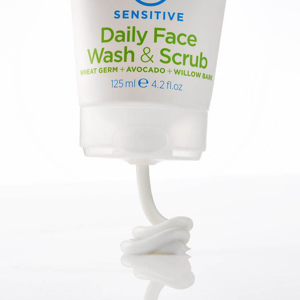 Sensitive Daily Face Wash & Scrub