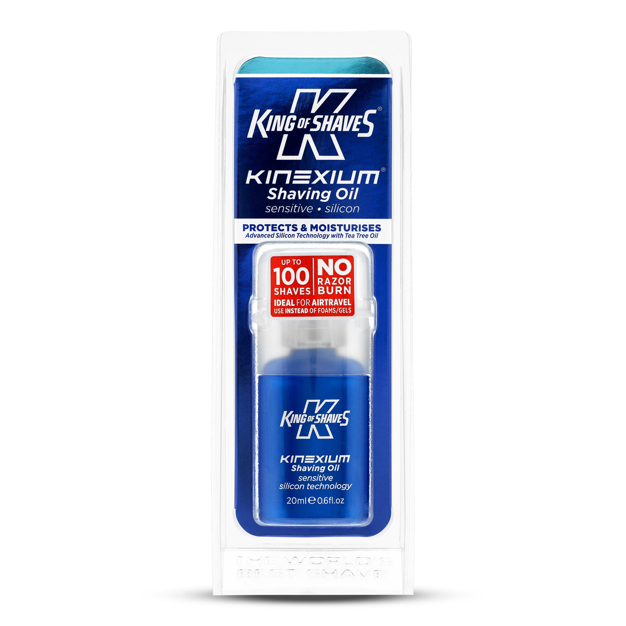 King of Shaves Advanced Shave Oil Sensitive (20ml / 0.6fl.oz)