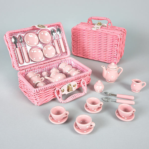 Tea Sets - Tea Set 17pc Spotty - Floss and Rock