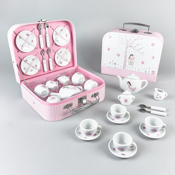 Tea Sets - Tea Set 17pc Fairy Blossom - Floss and Rock
