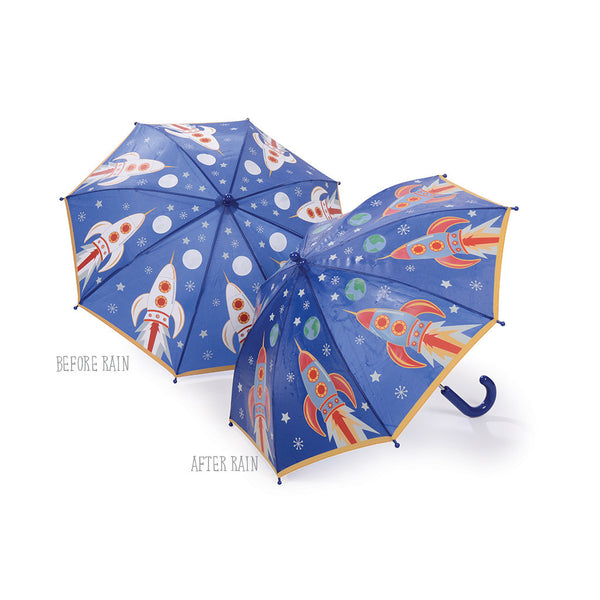 Umbrellas - Colour Changing Umbrella Rocket - Floss and Rock