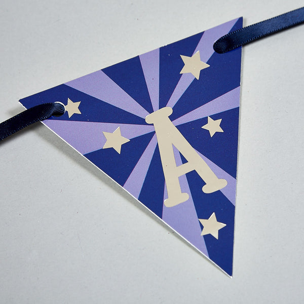 Bunting - Personalised Bunting Rocket - Floss and Rock
