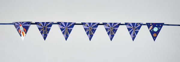 Personalised Bunting Rocket (REDUCED)