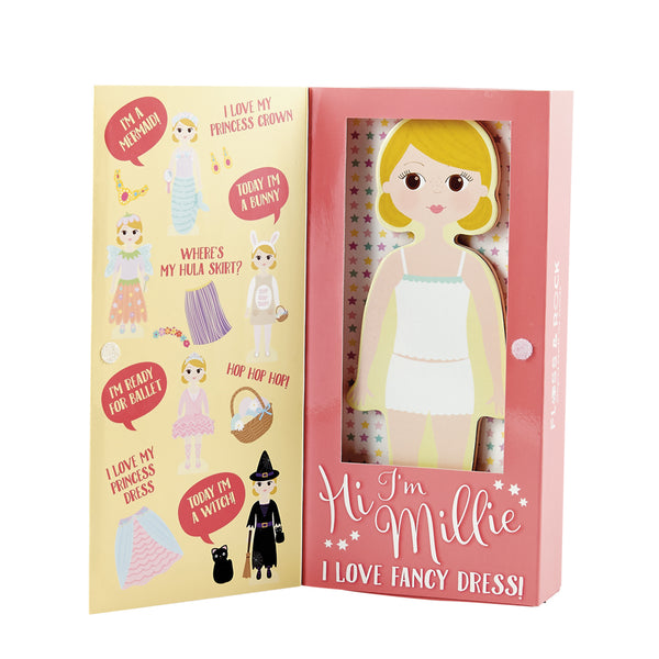 Magnetic Dress Up Doll Millie