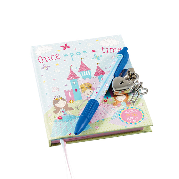 Lockable Notebook with Scented Pen Princess