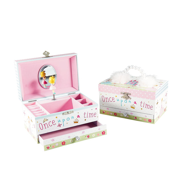 Musical Jewellery Box Princess Feather