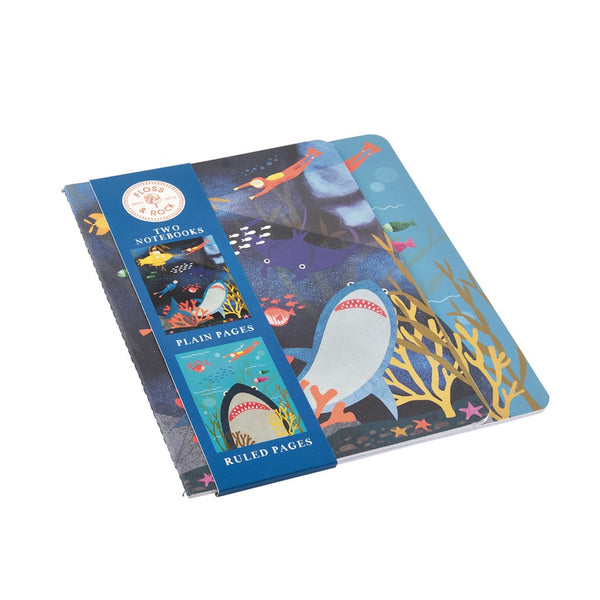 Deep Sea Set of 2 Notebooks
