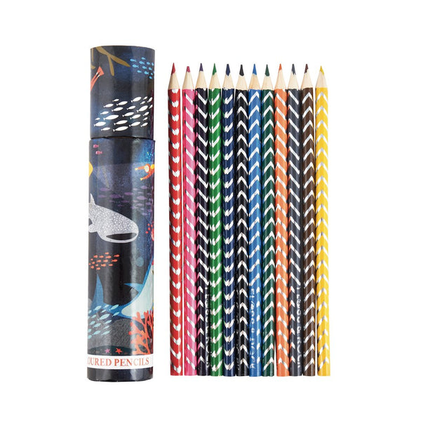 Deep Sea pack of 12 Pencils