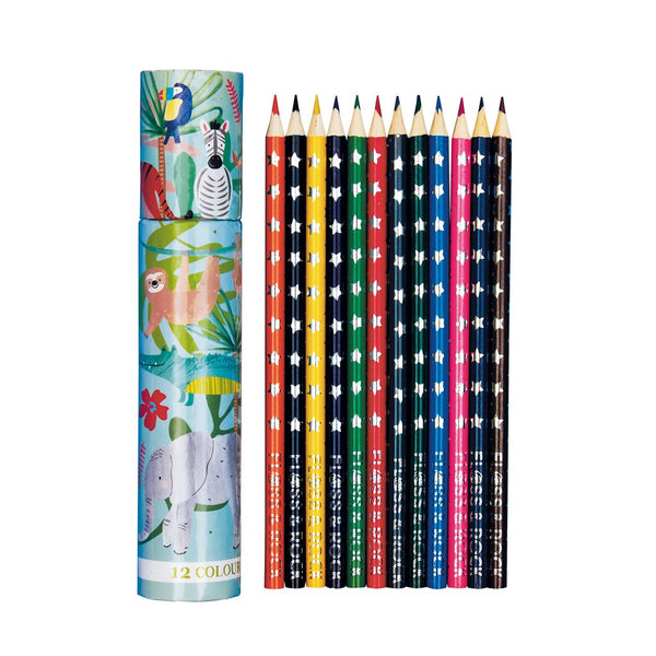 Jungle pack of 12 Pencils