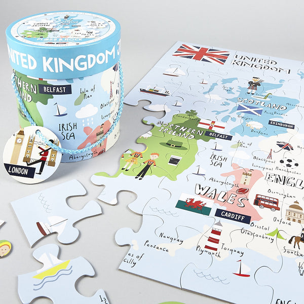 Jigsaw 48pc Giant UK Map