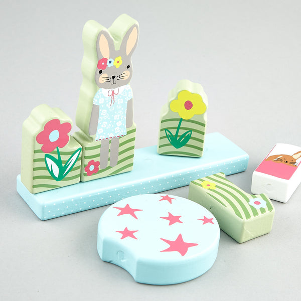 Magnetic Puzzle Bunny Rabbit