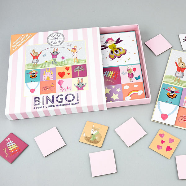 Games and Puzzles - * NEW * Bingo by Pictures - Floss and Rock