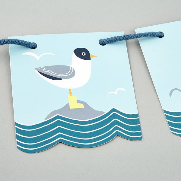 Personalised Bunting Whale (REDUCED)