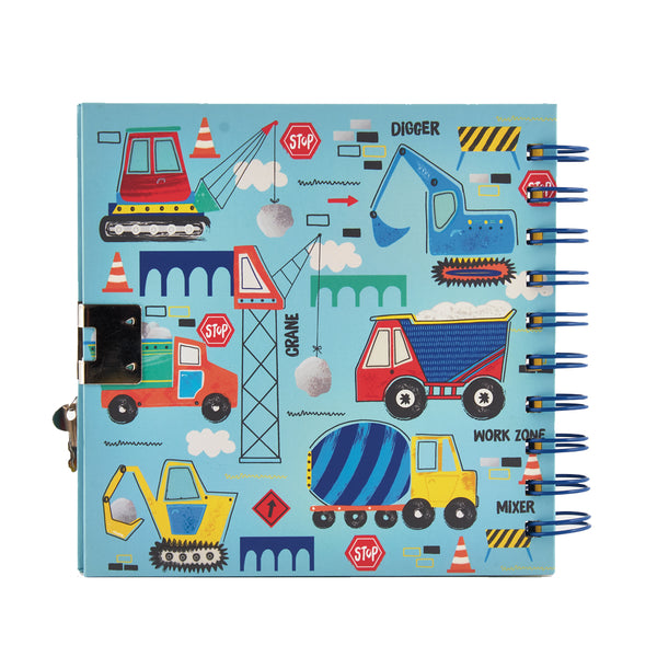 * NEW * Construction Glow in the Dark Diary