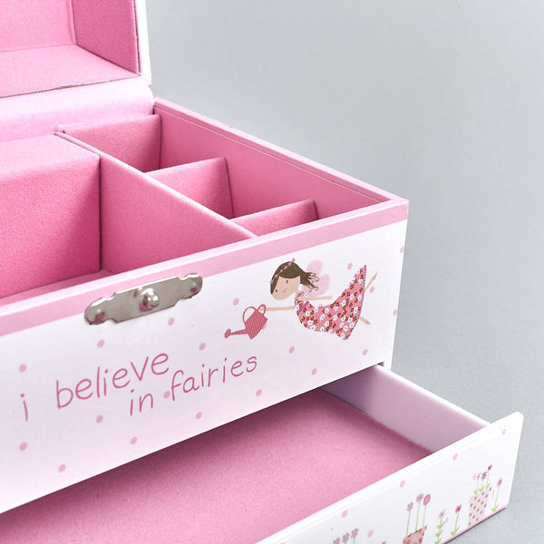 Jewellery Boxes - Musical Jewellery Box Fairy Blossom - Floss and Rock