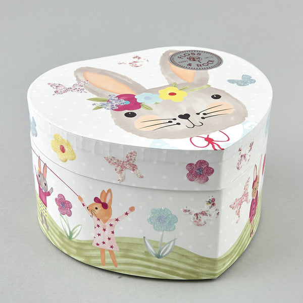 Musical Jewellery Box Bunny Rabbit