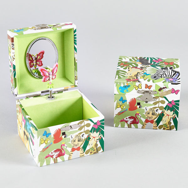 Musical Jewellery Box Go Wild