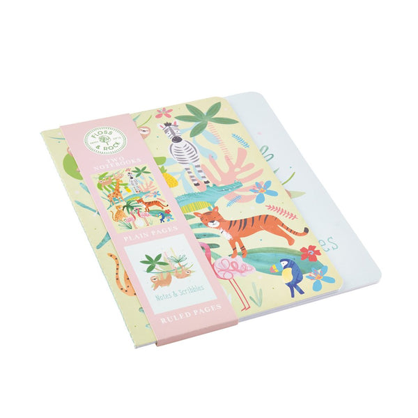 Jungle Set of 2 Notebooks