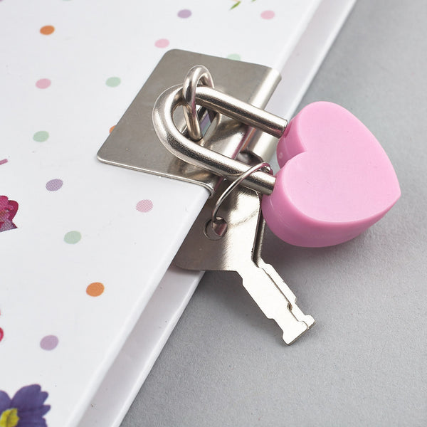 Secret Diaries and Pens - Lockable Diary Notebook with Scented Pen Petal Fairy - Floss and Rock