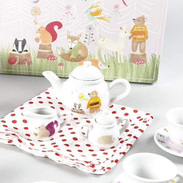 Tea Set 15pc Woodland Animals