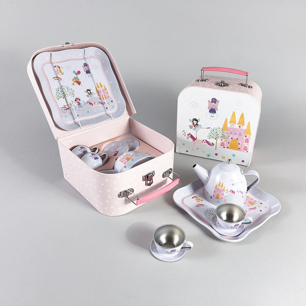 Tea Sets - * NEW * Tea Set 7pc Fairy Unicorn - Floss and Rock
