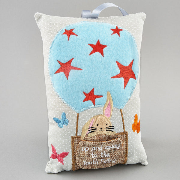 Tooth Fairy Cushions - * NEW * Tooth Fairy Cushion Bunny Rabbit - Floss and Rock