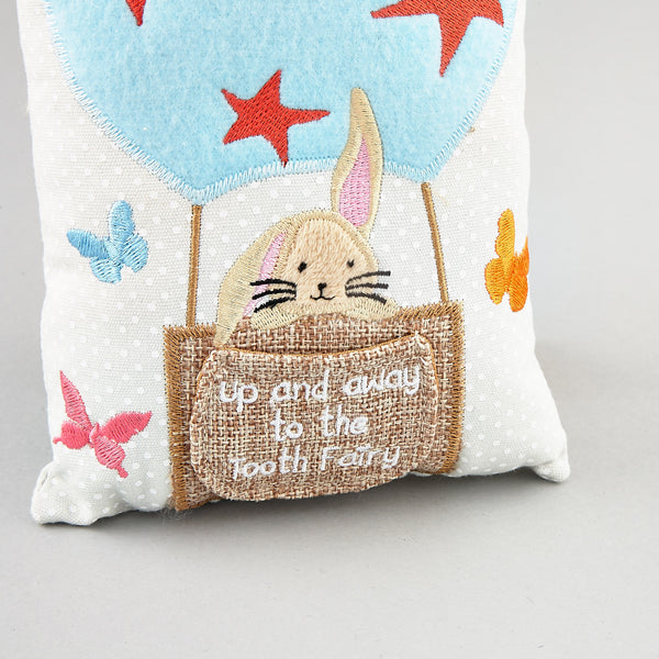 Tooth Fairy Cushion Bunny Rabbit