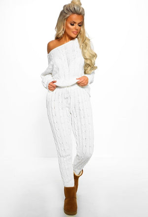 Jessie Cable Knit Set