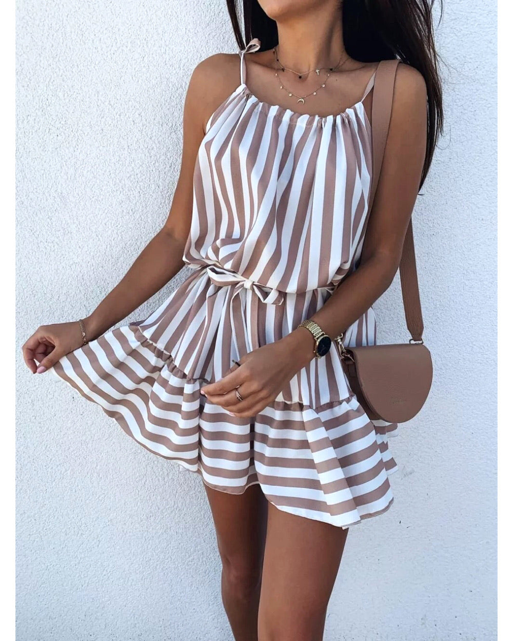 Candy Dress - Beige