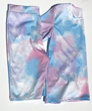 Cycling Short Set - Blue & Lilac