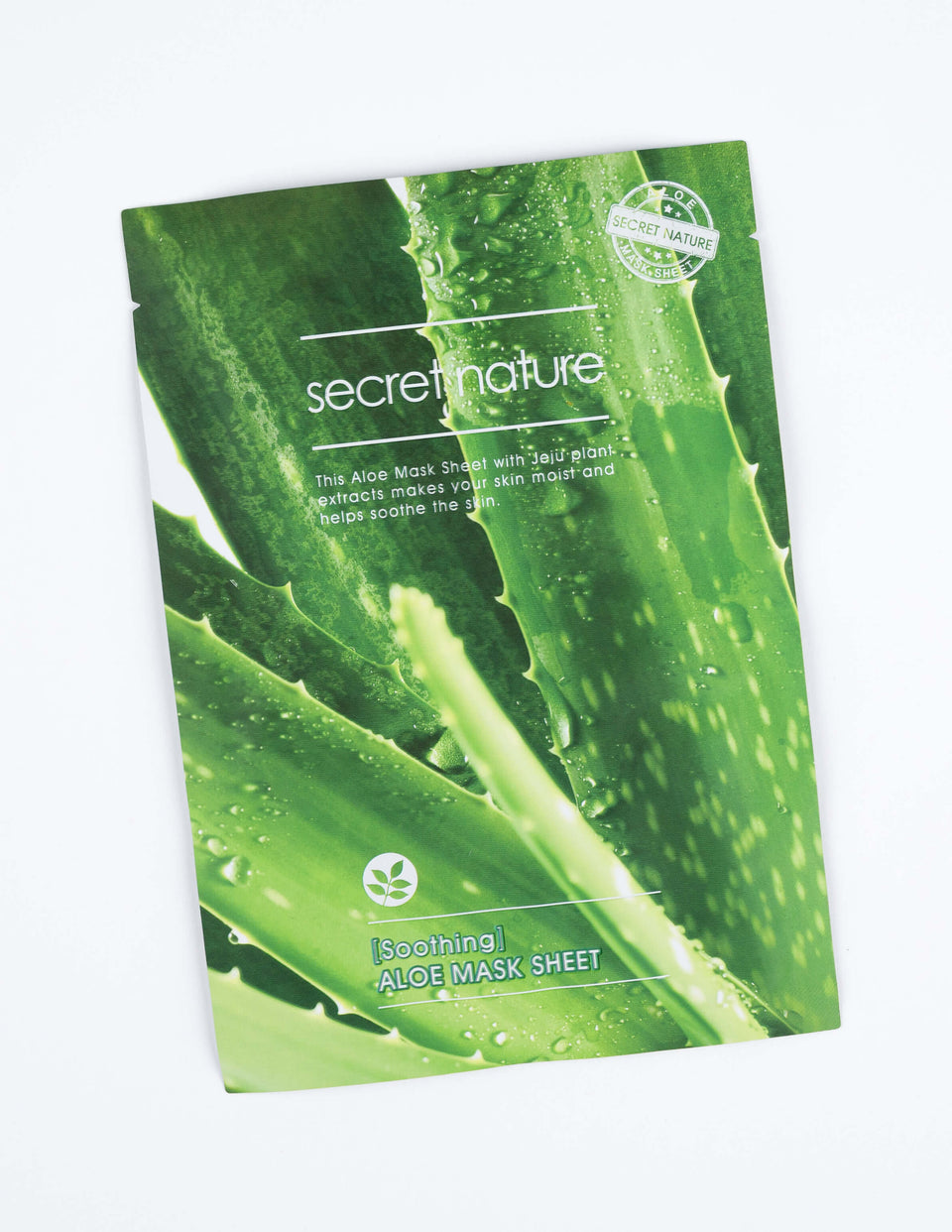 Soothing Aloe Mask Sheet 1pc