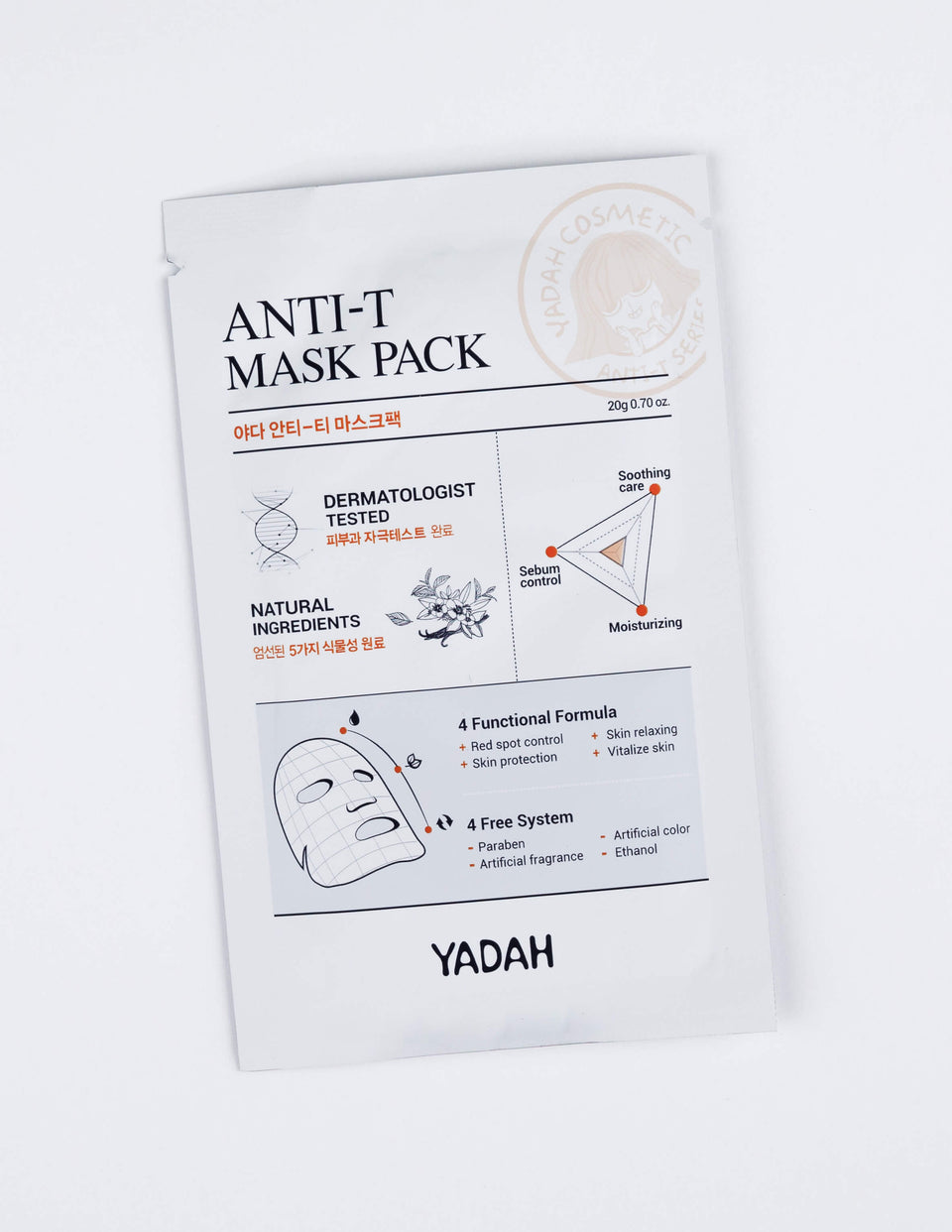 Anti-Trouble Mask Pack 3pcs