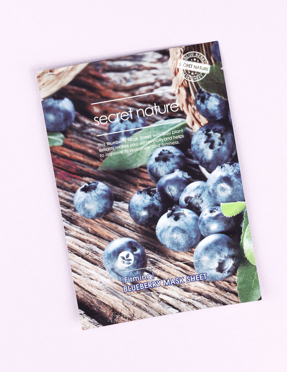 Soothing Blueberry Mask Sheet 1pc