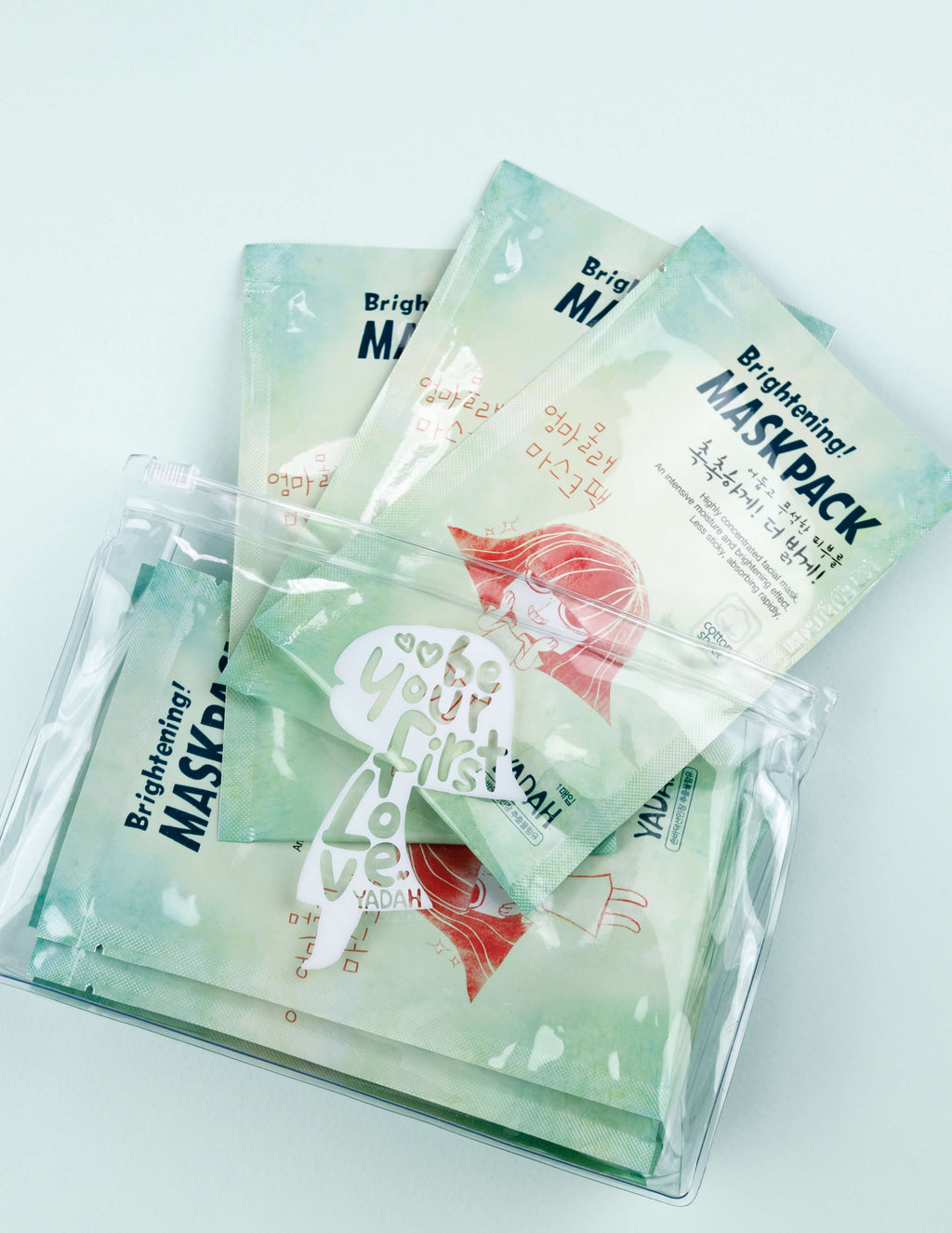 Brightening Mask Pack 5pcs (with pouch)